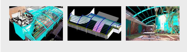 3D scanning and CAD drawings for accurate steel erection